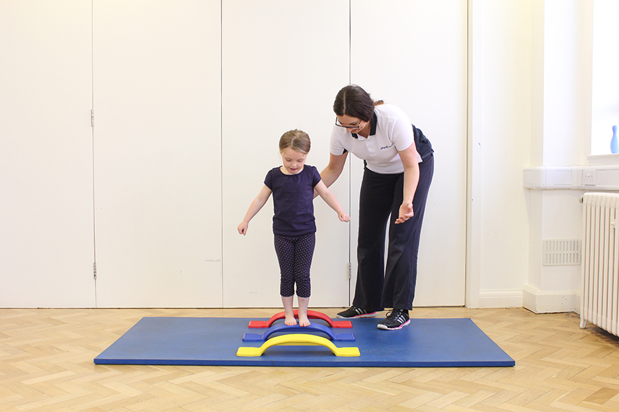 Physio intervention - balance