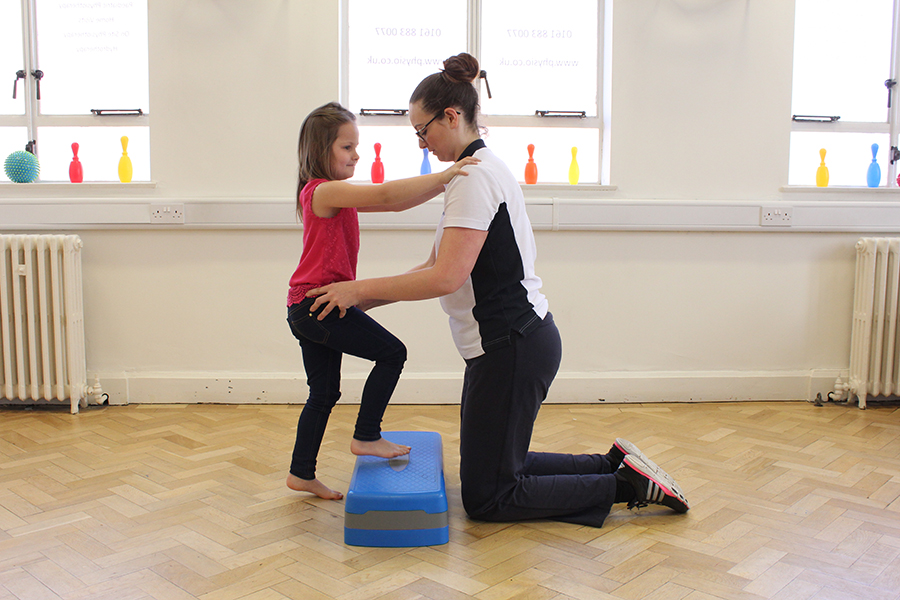 Physio intervention - balancestanding